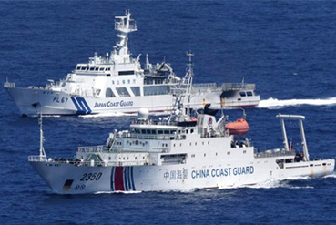 China Tests Japanese and U.S. Patience