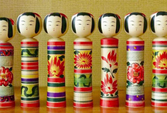 History of Kokeshi Wooden Dolls from Japan