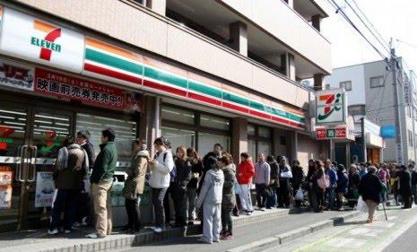 No Looting in Japan