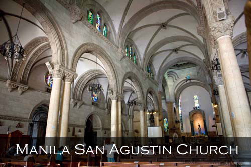 In 1993, San Agustin Church was one of four Philippine churches constructed during the Spanish colonial period to be designated as a World Heritage Site by UNESCO. Manila, Philippines