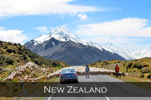 Main menu image link for the New Zealand stock photography pages and photographs