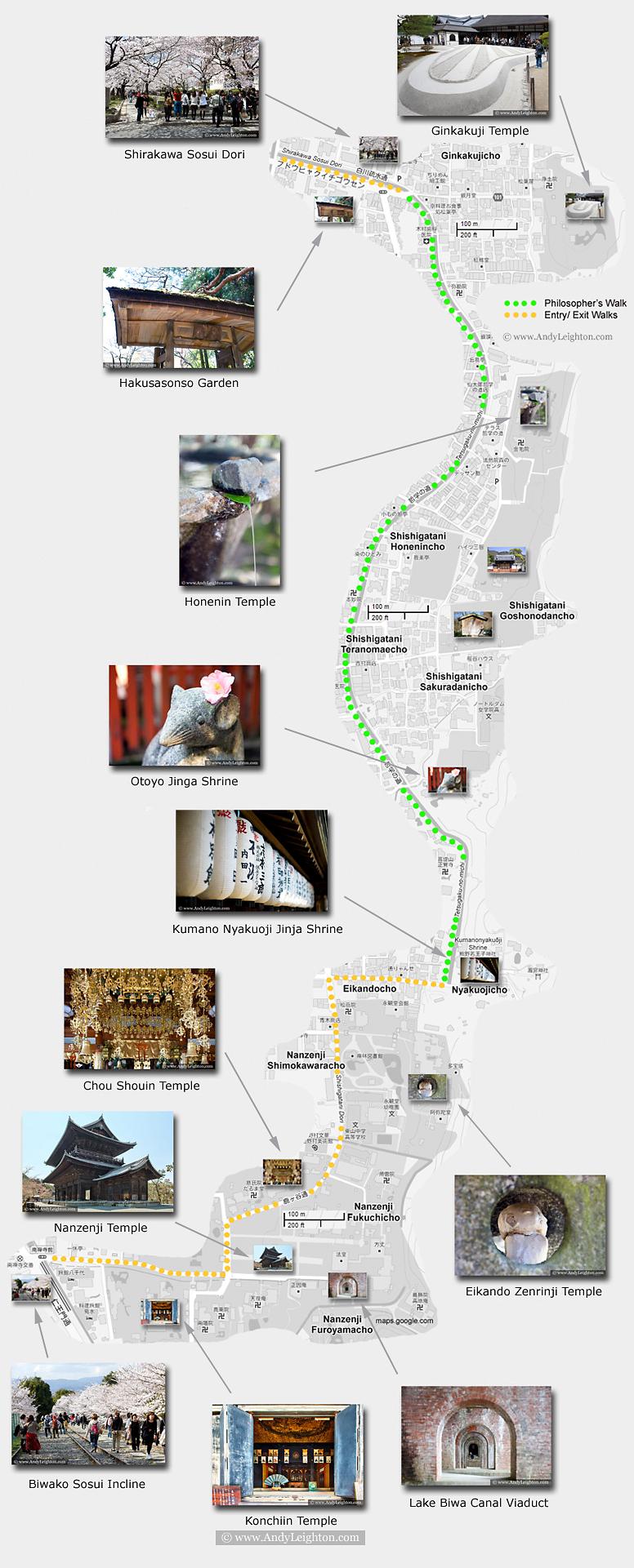 map-philosophers-path-walk-kyoto