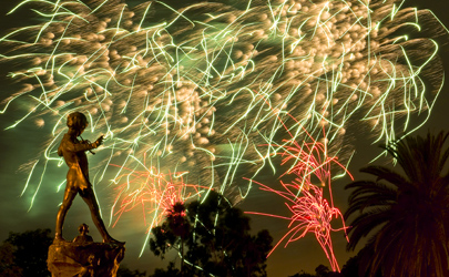 Link to Fireworks Photographs