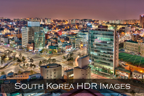 Link to South Korea HDR photographs